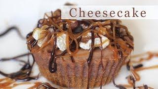 Easy Chocolate Cheesecake Cupcake Recipe 초컬릿 치즈케잌 만들기