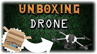 """Cloudy's Life-UNboxing GoPRO """"KARMA"""" Drone & """"HERO5"""""""