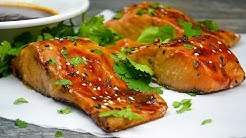 Keto Recipe - Ginger Sesame Glazed Salmon
