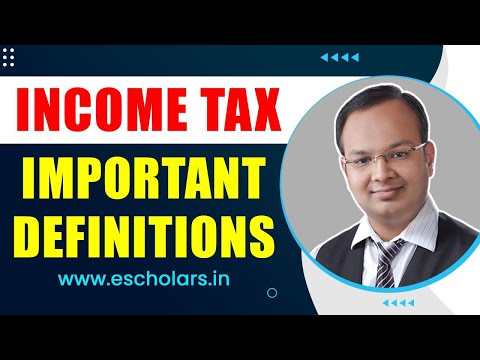#3 | Income tax act 1961| definition of person, assessee, previous year and assessment year