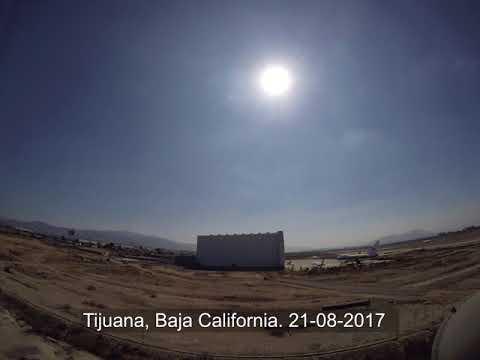 Eclipse solar 2017 desde Tijuana