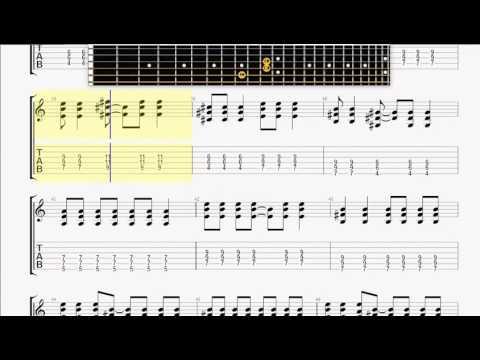 Bad ReligionPunk Rock Song GUITAR 1 TABLATURE