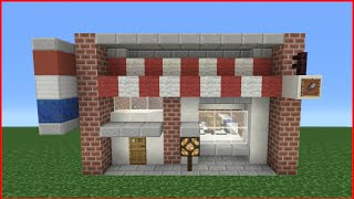 Minecraft Tutorial: How To Make A Barber Shop