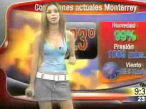 Mexico's Sexy Female TV Weather Forecasters