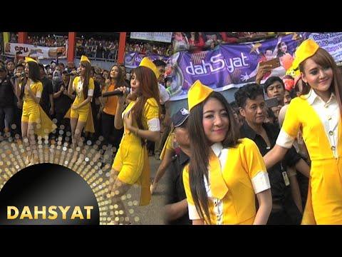 D'Mojang Menggoyang Pasar Cikupa 'Mati Aku' [Dahsyat] [2 Juni 2016]