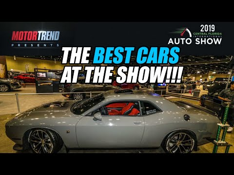 THE BEST CARS I SAW AT THE INTERNATIONAL AUTO SHOW | MODERN DAY MUSCLE