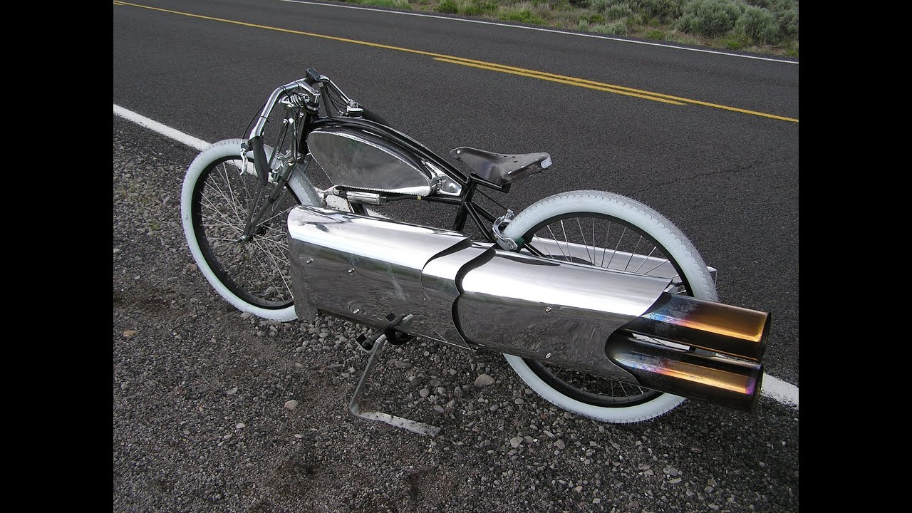 New Rocketman Show Starting 2017 Amazing Twin Jet Engine Bicycle