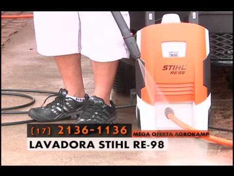 lavadora stihl re 98 youtube