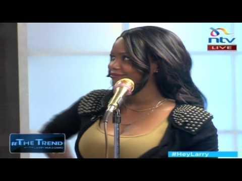 Sanaipei performs new song 'Simama Imara' LIVE on #theTrend