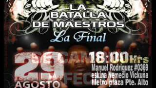 Batallas de Free Final Cambio Fecha. El Volcan Records