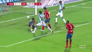 Medellín 3-1 Junior - Gol Germán Cano - Final Liga Águila 2018-II Video