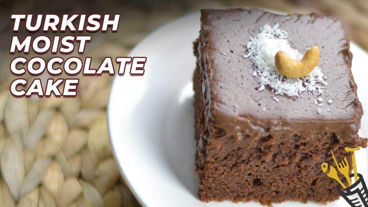 Turkish Moist Chocolate Cake Asaan Recipes