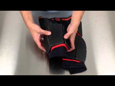 Warrior Burn Lacrosse Leg Pad Goalie Pants Manufacturer Video @SportStop.com