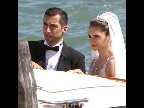 Генрих Мхитарян женился