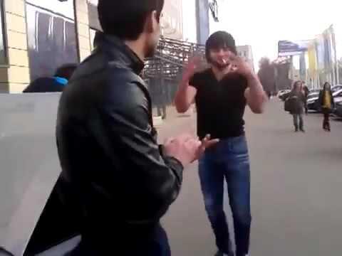 Русские в шоке от Армян  Лезгинка в центре города Воронеж