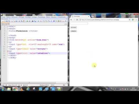HTML Cours 7 Les Formulaires Methode Get & Post