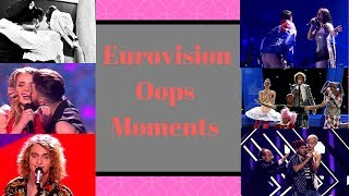 Eurovision Oops Moments