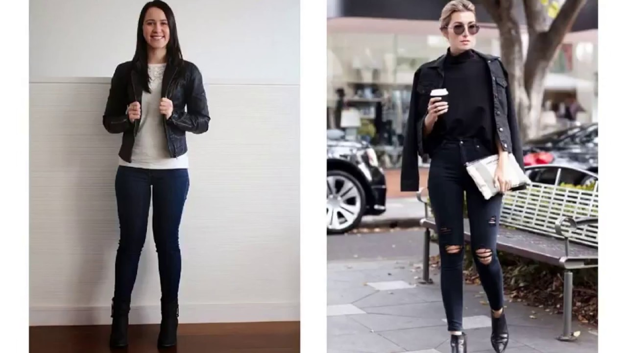 Expressive Black Denim Jacket Outfit Womens Youtube