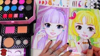 ★토이구마★미미 메이크업 박스 화장하기 장난감♥メイクボックスのおもちゃ♥MIMI Makeup Box