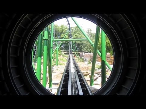 Freischütz double launch front seat on-ride HD POV Bayern Park