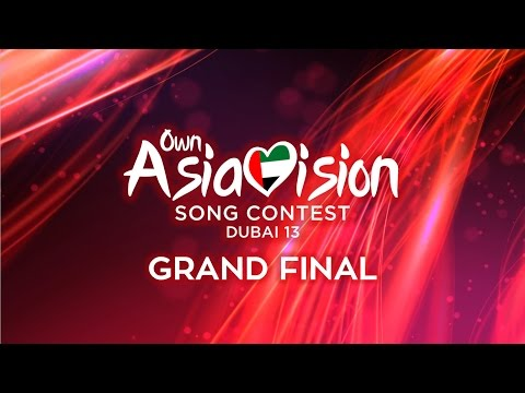 Own Asiavision Song Contest 13: Grand Final
