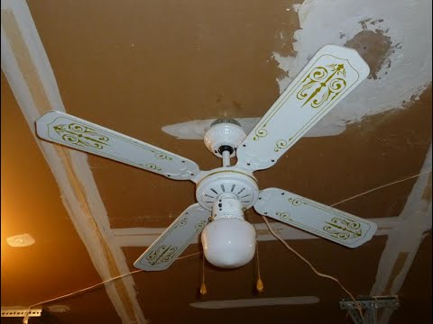 J&P (CEC) Spinner Ceiling Fan - YouTube