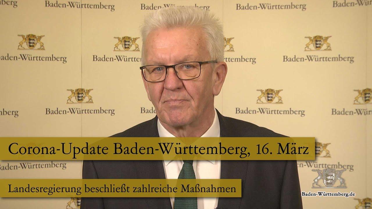 Corona Update Fur Baden Wurttemberg 16 Marz 2020 Youtube