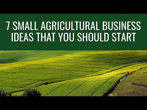 7 Small Agricultural Business Ideas That You Should Start in 2019