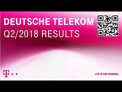 Social Media Post: Deutsche Telekom's Q2-2018 investor conference call
