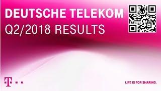 Deutsche Telekom's Q2-2018 investor conference call