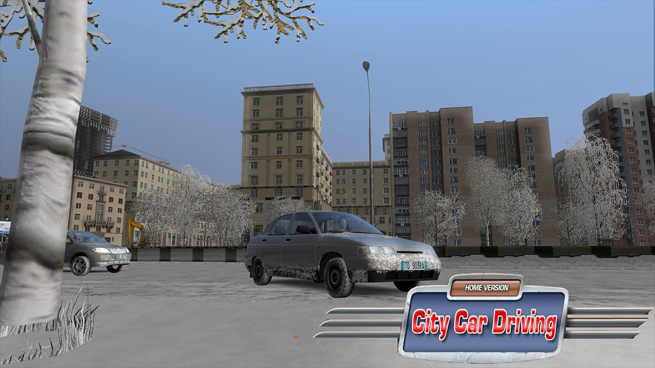 City Car Driving Driving Through The Entire New Map G27 Youtube