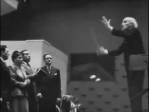 """""""Sempre libera"""" Toscanini prove + Licia Albanese"""