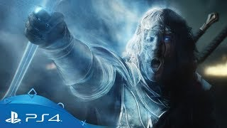Middle-earth Shadow of War  Live Action Trailer  PS4