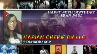 """Happy Birthday SeanPaul """" @duttypaul """" messages/videos/pictures from your #SPFAM """"2013"""" thumbnail"""