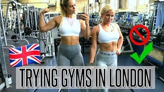 BEST AND WORST GYM IN LONDON?! - trying 5 gyms with Frida!!