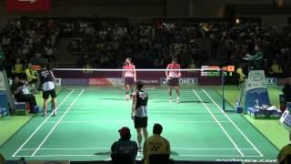 [HD] Australian Open 2013 - Mohammad Ahsan / Hendra Setiawan vs Koo Kien Keat / Tan Boon Heong