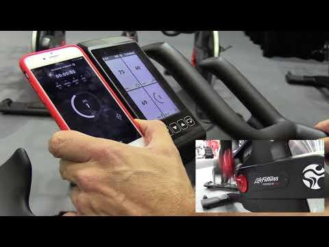 Life Fitness - 'ICG Training App' demo for 'IC7 indoor bikes'