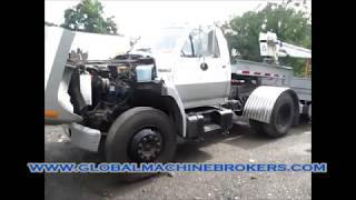 Ford F700 Non Cdl Truck New 1985 W/Detroit Diesel 8.2L Engine Automatic 2WD & PTO