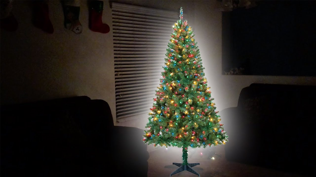 UNBOXING | Holiday Time 6.5ft Pre-Lit Madison Pine Artificial Christmas Tree