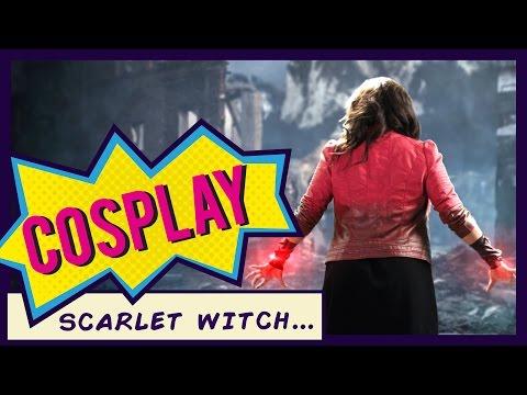 scarlet witch costume diy doovi