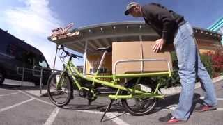 Spicy Curry Electric Cargo Bike