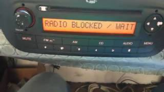 BLAUPUNK,BOSCH CD MP3 ÇALAR (RADİO BLOCKED/ WAIT )PROBLEMİ ÇÖZÜMU