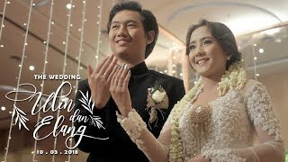Video The Wedding Ulin & Elang (Seserahan & Akad) download MP3, 3GP, MP4, WEBM, AVI, FLV September 2018