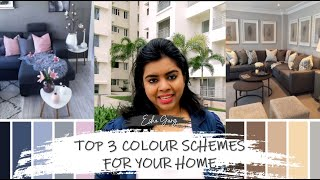 Top 3 Colour Schemes for Each Area of Your House and How to Choose Them | DDbE