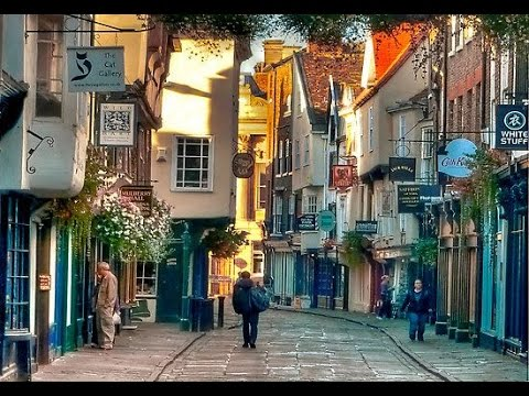 A Walk Through York, England
