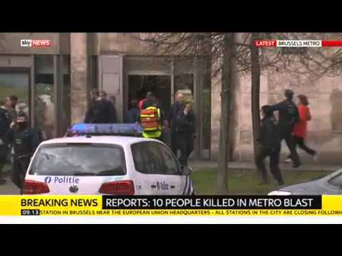 Deadly Rush Hour Bombing At Brussels Metro Station