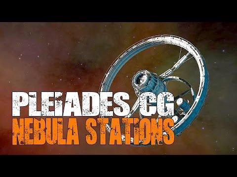Elite: Dangerous - Path to Pleiades - The Nebula Station CG Begins
