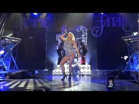 Britney Spears Hold It Against Me Live RAIN Club Palms Hotel Las Vegas HD