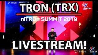 TRON (TRX) LIVE FOOTAGE FROM NITRON SUMMIT! (Justin Sun, Mick Tsai & More!)