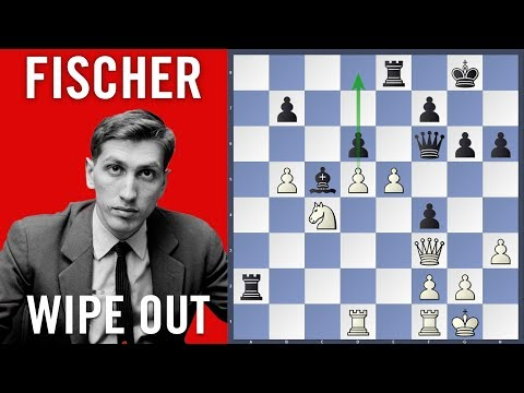 Fischer wipe out  - Fischer vs Ivkov | Herceg Novi 1970 |